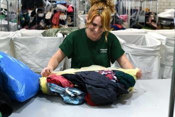 Cifra que equivale a un total de 181.000 prendas que podrán ser reutilizadas por la Fundación Humana
