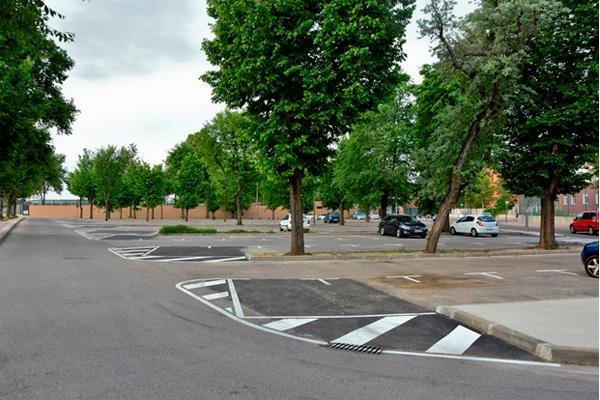 Se amplía el aparcamiento de la Ciudad Deportiva Joaquín Blume