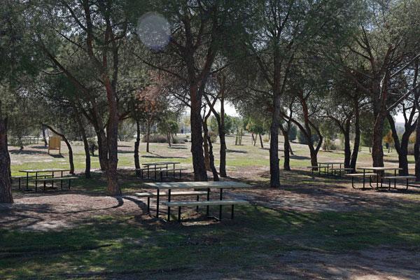 Se han instalado 15 mesas de merendero, papeleras y se han replantado casi 80 árboles