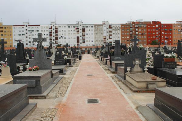 El lavado de cara del cementerio ha supuesto una inversión de 234.422,85 euros