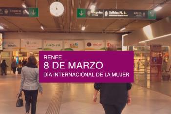 Además, la estación de Atocha también modificará su nombre con motivo del 8 de Marzo