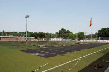 La inversión que se está realizando en el complejo deportivo boadillense asciende a 130.000 euros