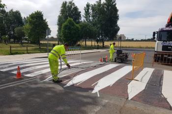 El objetivo de esta actuación es mejorar la señalización y la seguridad vial