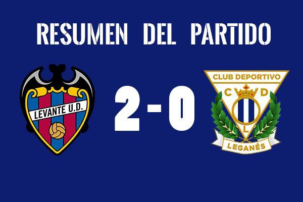 Resumen del Levante vs Leganés