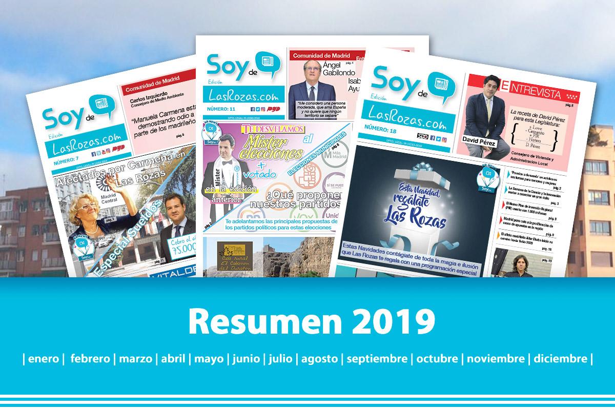 Repasamos los acontecimientos más importantes del 2019 en SoydeLasRozas