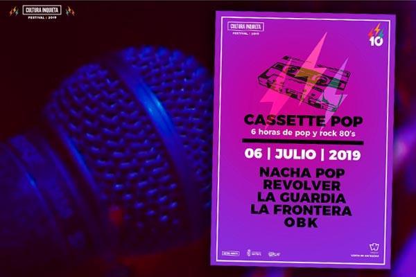 Revolver, La Guardia, La Frontera, Nacha Pop y más en 'Cultura Inquieta 2019'