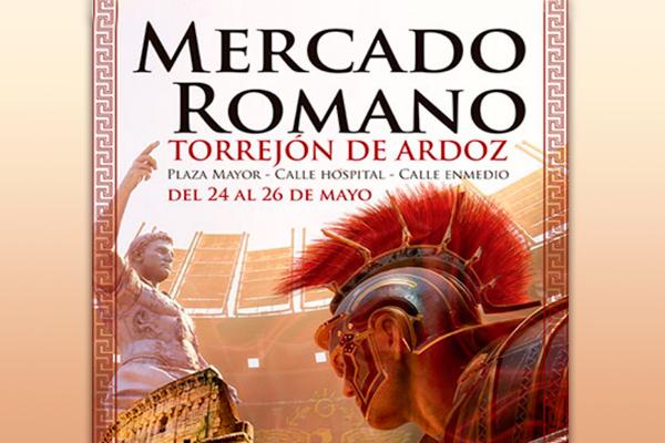 El próximo viernes 24 dará comienzo el Mercado Romano en Torrejón