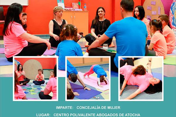 Súmate a 'Yoga en familia' este fin de semana