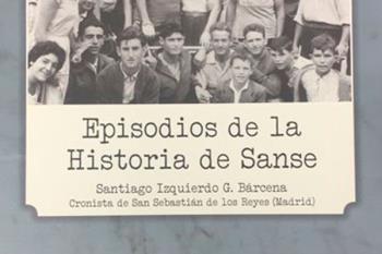 El archivero municipal de Sanse, Santiago Izquierdo, ha editado un tomo con nuevos datos, nuevas historias y más de 500 fotografías de Sanse