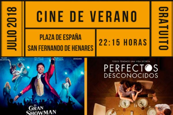 'Toc-toc', 'El Gran Showman' y 'Perfectos desconocidos' son algunos de los títulos que podremos disfrutar en la plaza de España, los viernes a las 22:15 horas