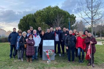 El acto, en memoria de las víctimas de terrorismo en la celebración del 43 aniversario de su asesinato