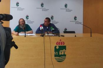 Corpa y un activista contra la contaminación acústica comparecen en una rueda de prensa