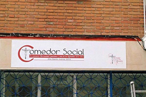 Sanse cede un local municipal para un nuevo comedor social