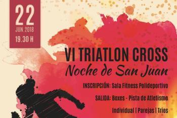 Sanse celebra, el próximo 22 de junio, el VI Triatlón Cross