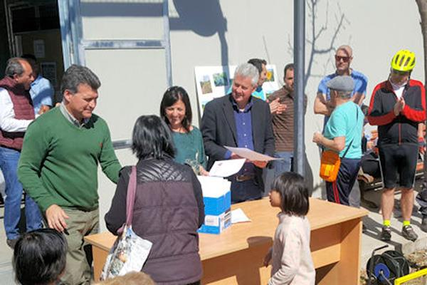 Sanse distribuye 47 parcelas para huertos urbanos
