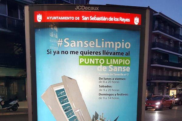 Sanse lanza una campaña de sensibilización contra el abandono de muebles en la calle
