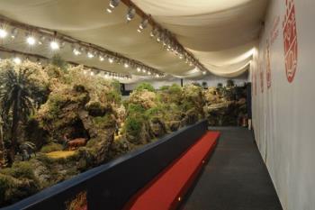 La Asociación de Belenistas cumple 25 años y lo celebran con un belén de más de 200 metros cuadrados