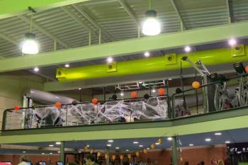 El polideportivo y el Centro Joven de la localidad ha organizado actividades en torno al terror