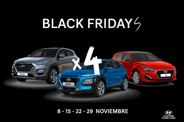 Santón oliva, concesionario Hyundai en Guadalajara celebra el Black friday y lo multiplica por 4