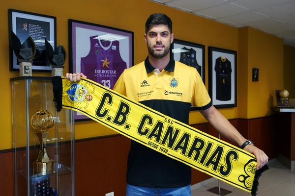 Santi Yusta jugará en el Iberostar Tenerife