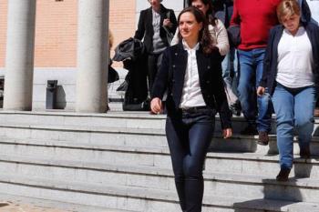 La alcaldesa de Getafe declara en el Juzgado de Primera Instancia
