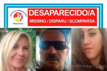 SOS Desaparecidos mantiene la alerta de tres personas desaparecidas independientemente en Madrid