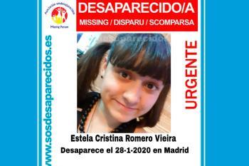 Estela desapareció este martes al llegar al aeropuerto de Barajas procedente de un vuelo de Brasil