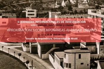 Profesionales de distintos lugares del mundo se reúnen en Alcalá de Henares para debatir sobre el futuro del paisaje.