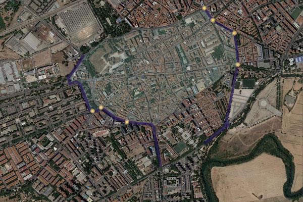 Alcalá rediseña el tráfico