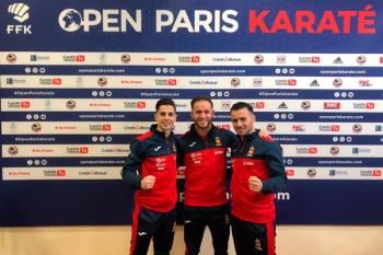 El sanfernandino ha conseguido tres platas en el Open de París y en el Campeonato de España de Karate