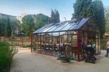 La iniciativa desarrollada en el Jardín Terapéutico, parte del programa de Teleasistencia domiciliaria