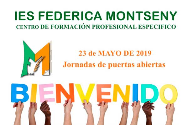 El Instituto Federica Montseny abre sus puertas para mostrar su oferta formativa
