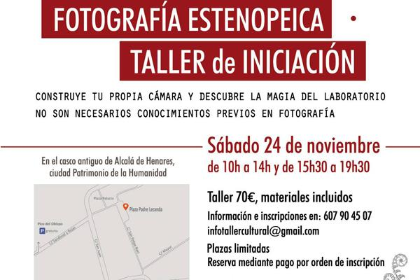 Alcalá ofrece un taller de iniciación a la fotografía estenopeica