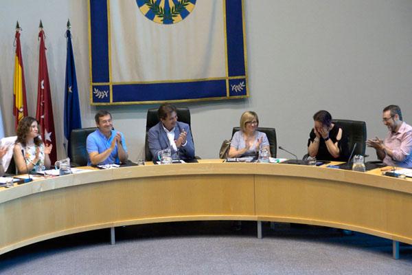 La reciente exconcejala se ha despedido hoy en la sesión plenaria para ocupar su cargo como Directora del Instituto de la Mujer