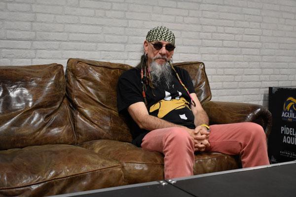 Hablamos con Enrique Villarreal Armendáriz, 'El Drogas', con motivo del estreno de su último disco