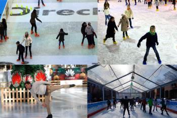 Estas navidades diviértete con la familia y amigos patinando en alguna de las pista de hielo