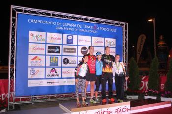 La deportista del Triatlón Fuenlabrada mandó en la modalidad de sprint