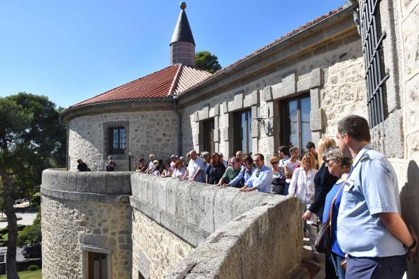 Suspendidas temporalmente las visitas guiadas al Castillo de Villaviciosa de Odón