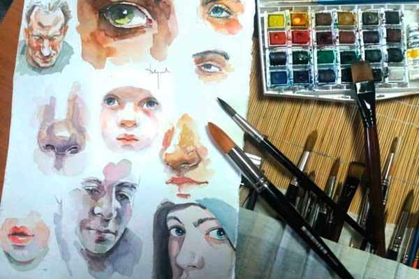 Las personas mayores de 16 años podrán aprender a pintar en Getafe