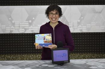 La escritora y actriz, Tamara Carrascosa, nos cuenta su experiencia promoviendo la cultura en Fuenlabrada