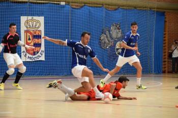 Tercera victoria consecutiva del conjunto mostoleño, que en esta ocasión hace valer su condición de favorito ante el Ciudad de Toledo
