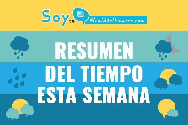 El tiempo esta semana en Alcalá 22 Octubre
