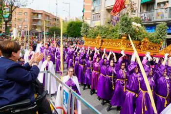 Habrá cortes de tráfico mientras duren las procesiones en las calles del recorrido y sus aledaños