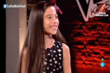 Melani, la ganadora más joven de