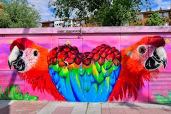 Suman ya 40 murales realizados dentro del Plan de Mejora Estética de Torrejón de Ardoz