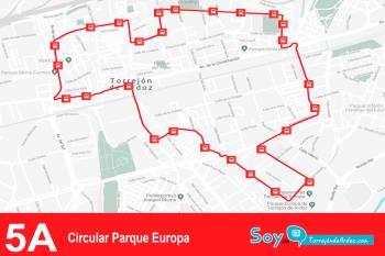 La 'Circular Parque Europa' pasará a conectar el sur y el norte de nuestro municipio