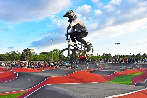 Torrejón inaugura el Bike Park, el circuito urbano de bicicletas más grande de España