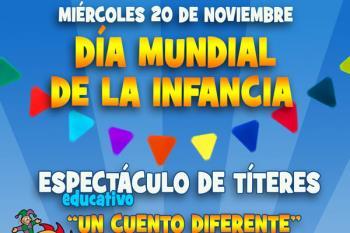 Un espectáculo de títeres y diversos talleres educativos se citan en Torrejón para conmemorar el Día Mundial de la Infancia