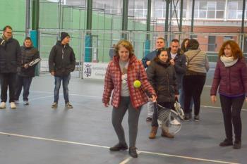 El ayuntamiento renueva el convenio con la Fundación del Tenis Madrileño para desarrollar escuelas adaptadas