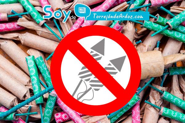 El  Ayuntamiento de Torrejón de Ardoz recuerda la prohibición de tirar petardos